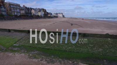 Plage Normande, Deauville Et Houlgate, Vidéo Drone
