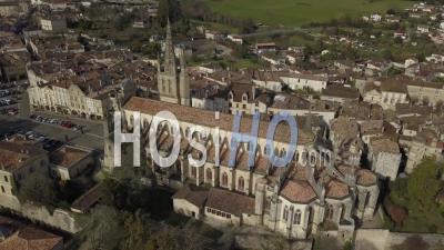 Cathédrale De Bazas En Gironde - Vidéo Drone
