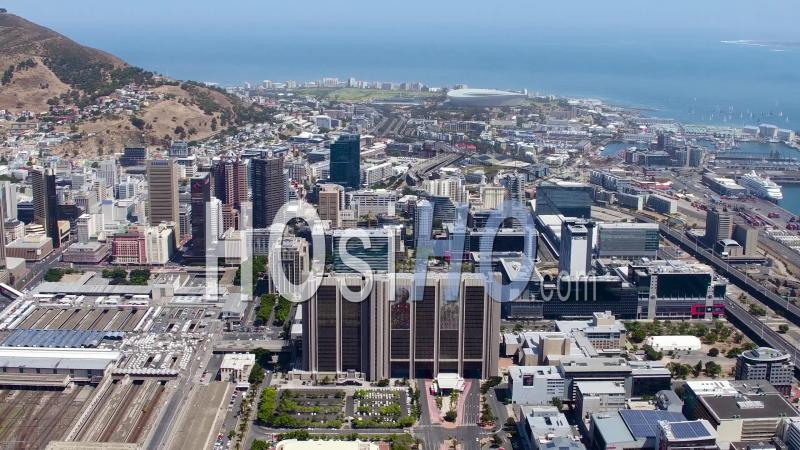 Aerial images and timelapse of South Africa