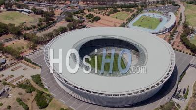 Cape Town Stadium Filmed By Helicopter
