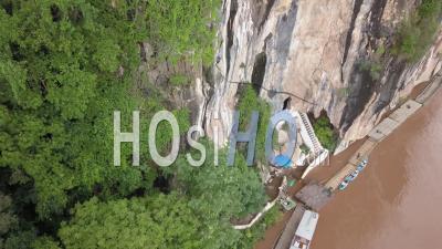 Pak Ou Caves, Drone Footage