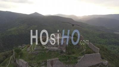 Termes Cathar Castle, Video Drone Footage