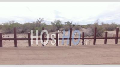 Vidéo Sur Le Drone Clôture En Acier - Vidéo Drone