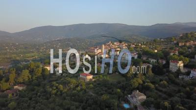 Fayence At Sunrise - Video Drone Footage