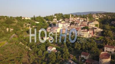 Village Of Tourrettes Vidéo Drone