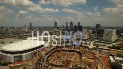 Stadium Atlanta Georgia Usa - Vidéo Drone