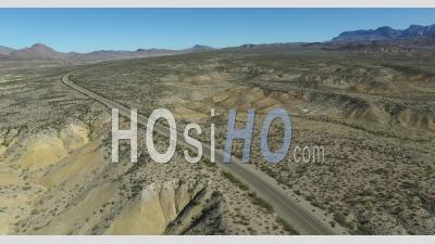 Parc National De Big Bend, Texas, États-Unis - Images De Drones - Vidéo Drone