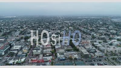 Vue Sur La Ville De Long Beach