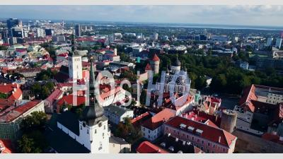 Vieille Ville De Tallinn - Vidéo Drone