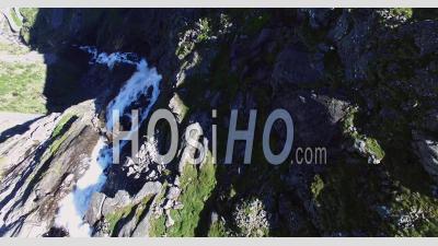 Trollstigen Road, Famous Tourism Road In Norway - Video Drone Footage