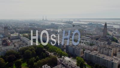 Le Havre From The Sky- Drone Point Of View