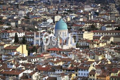 Ponte Vecchio à Florence, Région Italienne De La Toscane, Italie - Photographie Aérienne