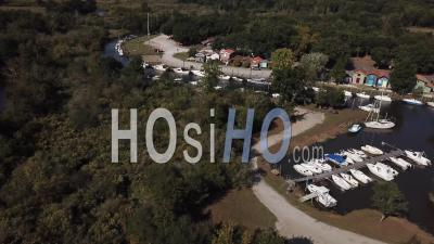 Port Des Huîtres De Biganos - Vidéo Drone