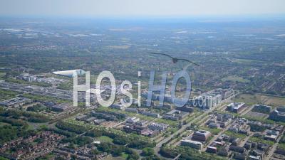 Milton Keynes Filmé Par Cessna