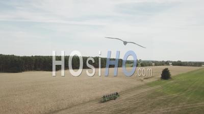 Champs De Seigle - Vidéo Drone