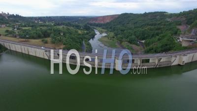 La Loire à Villerest - Vidéo Drone