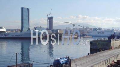 Digue Du Large, Port Marseille-Fos, Vidéo Drone