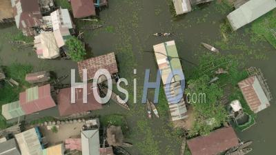 Lake Nokoue, Video Drone Footage