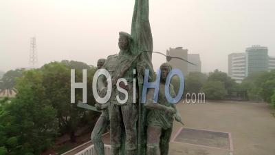 La Place Des Martyrs à Cotonou, Vidéo Drone