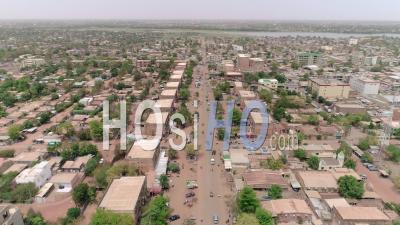 City Of Ouagadougou, Video Drone Footage