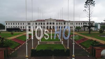 National Museum Of Cameroon In Yaounde, Video Drone Footage