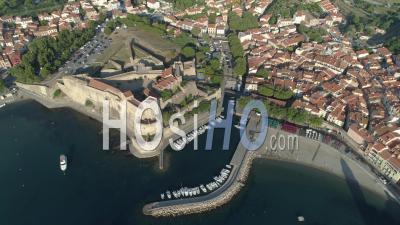 Fort Saint-Elme, Collioure, Vidéo Drone