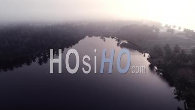 Misty Laguna View - Video Drone Footage