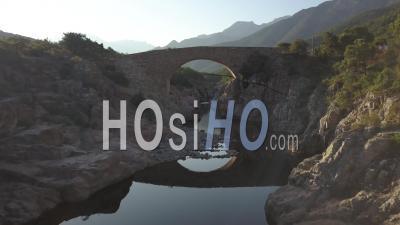 Old Bridge, Fango Ponte Vecchiu - Video Drone Footage