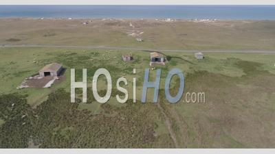 Vanlee's Haven In Bricqueville-Sur-Mer, Manche, France - Video Drone Footage