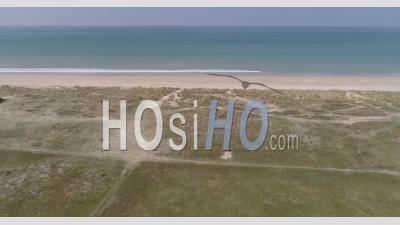 Havre De La Vanlee à Bricqueville-Sur-Mer, Manche, France – Vidéo Drone