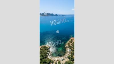 Côte D'ibiza - Vu Par Drone - Photographie Aérienne