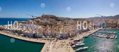 Ville D'ibiza - Vu Par Drone - Photographie Aérienne