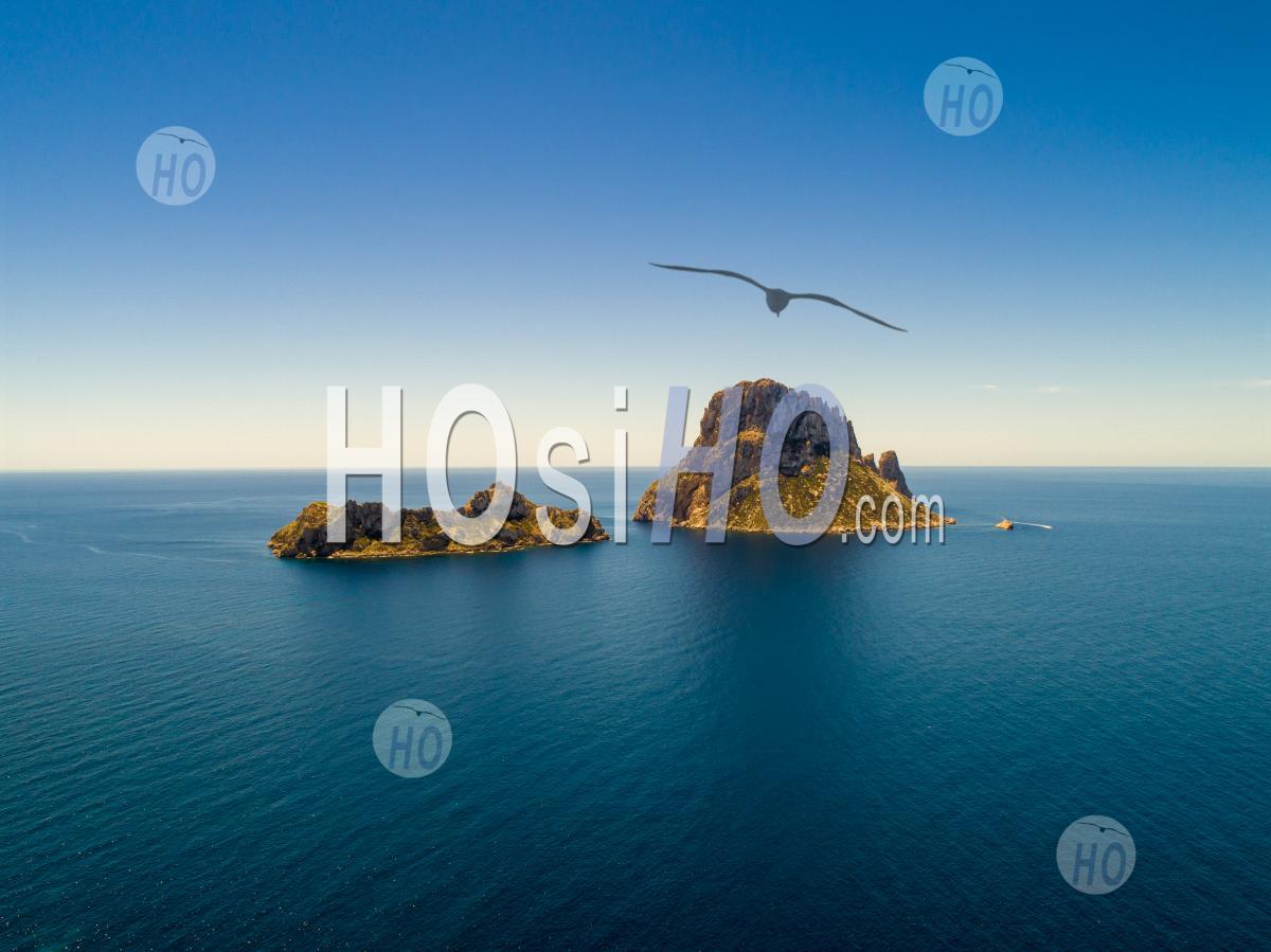 Rock Es Vedra - Vu Par Drone - Photographie Aérienne