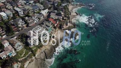 Laguna Beach, California - Video Drone Footage