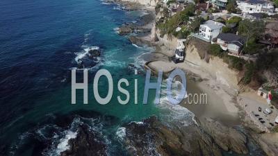 Laguna Beach, Californie - Vidéo Drone