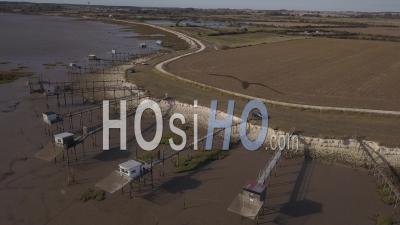 Point De Vue Drone Meschers Sur Gironde