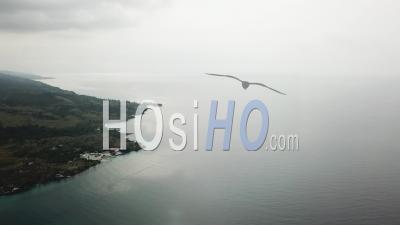 Côte Nord De L'île De Sao Tome - Vidéo Drone