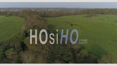 Vue Aérienne De La Cabane De Vauban à Carolles, Manche, France - Vidéo Drone
