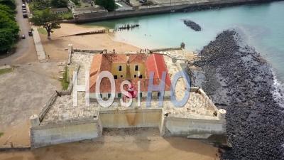 Vieux Fort Portugais - Vu Par Drone