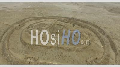 Temple Fortifié De Chankillo Au Pérou - Vu Par Drone