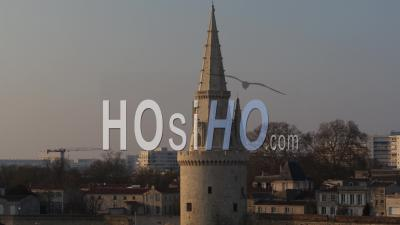 La Rochelle From Seaside - Drone Point Of View
