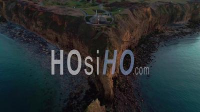 Pointe Du Hoc , Calvados, Normandie – Vidéo Drone