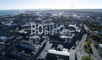 Aberdeen City - Vue Par Drone - Photographie Aérienne