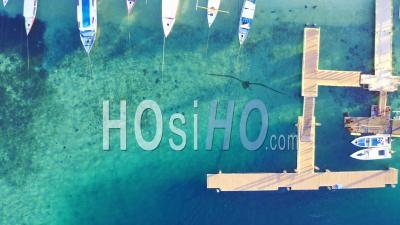Port Ile De Gili Air - Vidéo Drone