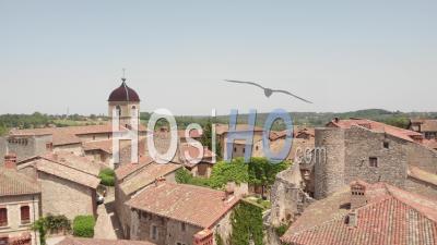 Cité Médiévale De Perouge - Vidéo Drone