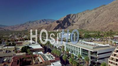 Aerial View Of Palm Springs, California