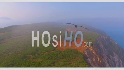 Vue Aérienne De L'île Mystique De Leucade, Grèce - Vidéo Drone