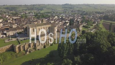Church Saint Sauveur, Video Drone Footage
