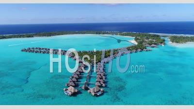 Drone Video Hotel Bora Bora French Polynesia