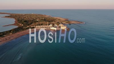 The Nature Reserve Of Vendicari On The Coast Of Sicily - Video Drone Footage